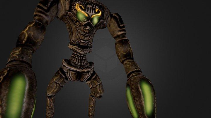 The Light Guardian 3D Model