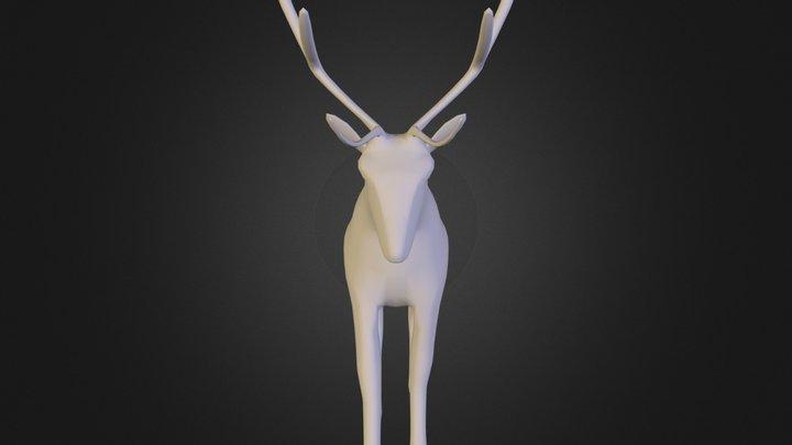 stagHDH.obj 3D Model