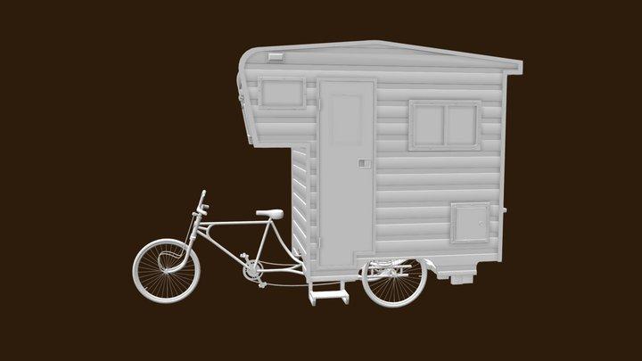 Camper Bike 3D Model