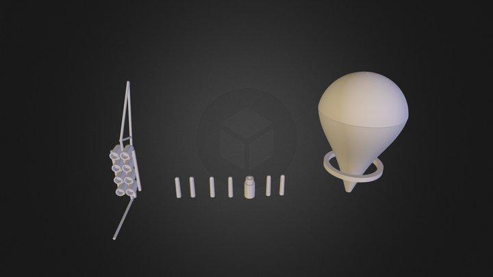 flashmob 3d B.stl 3D Model