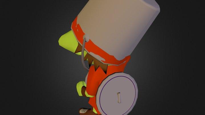 Armoured Goblin 3D Model