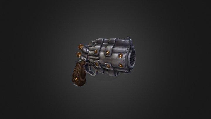 Gun of Leila from D the Vampire Hunter - Blood L 3D Model