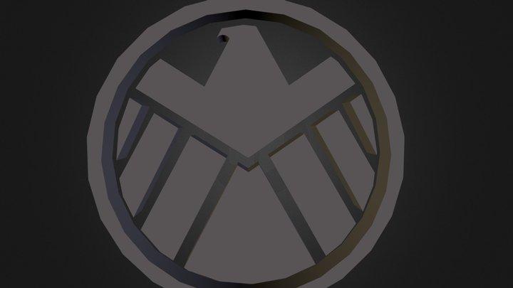 Shield Logo 3D Model
