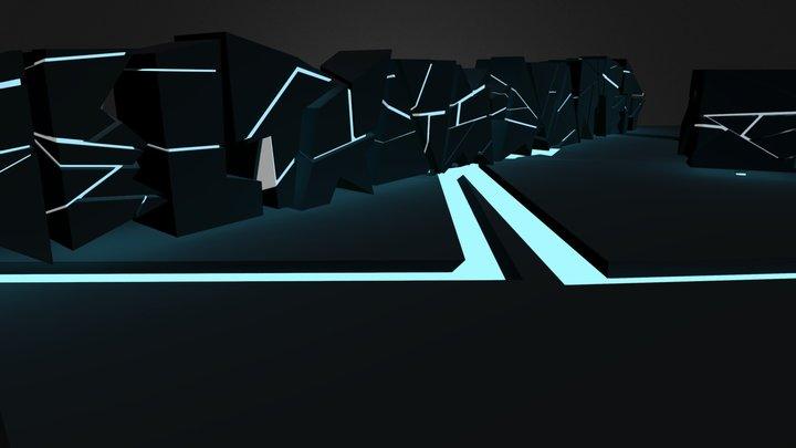 Weltraumquartett 3D Model