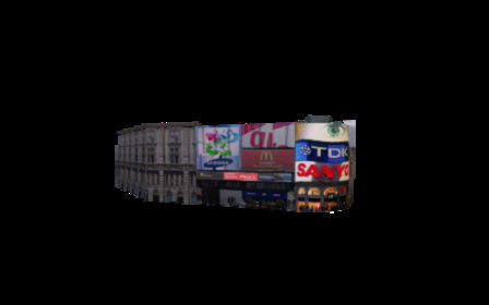 Piccadilly Circus 3D Model