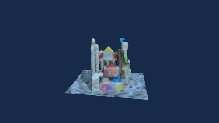 SUPER CASTLE TEAM 3_張綺珍 3D Model