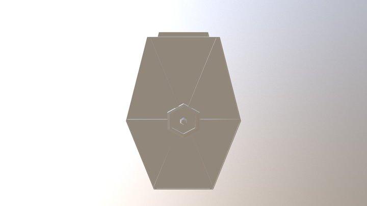 WIP TIE fighter 3D Model