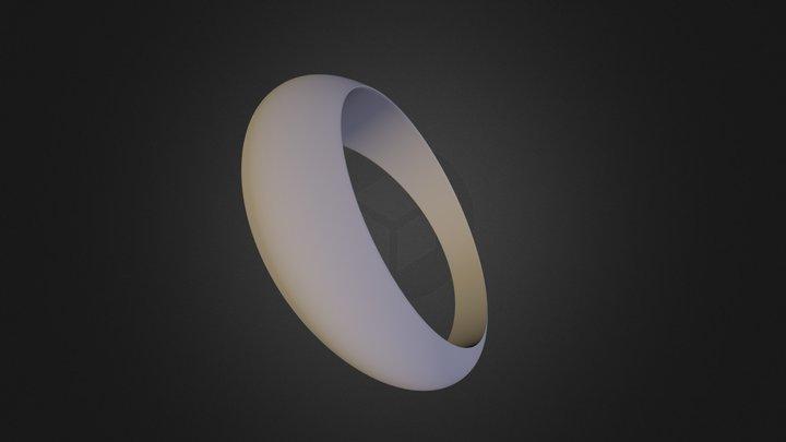 טבעת פשוטה דניאלה הניג 3D Model