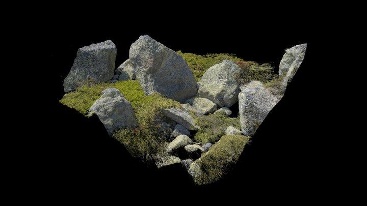 Rockformation for On Running 3D Model