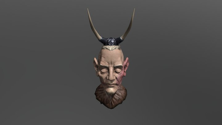 Viking-Heaj-April 3D Model