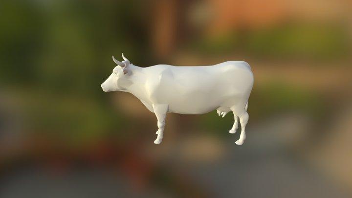 Cow - Krowa - Kuh 3D Model