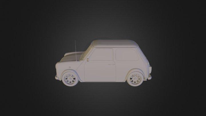Classic Mini Model- High Poly 3D Model
