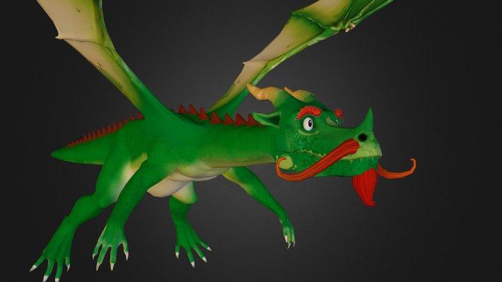 The Dragon 3D Model