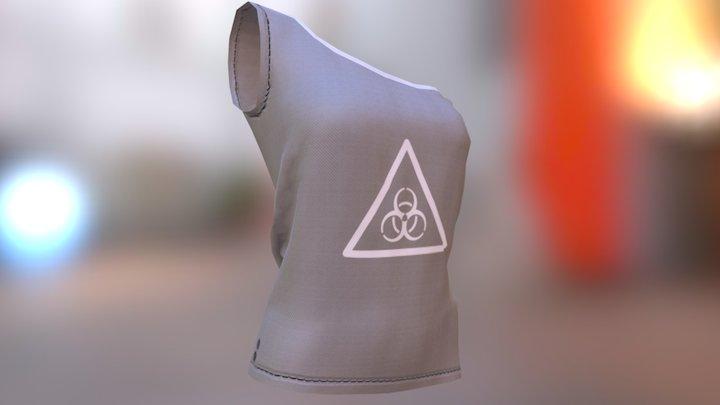 Biohazard One shoulder Top 3D Model