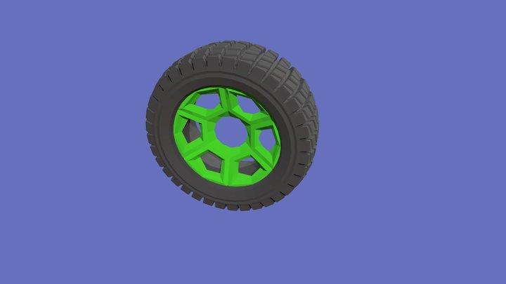 Wheele 3D Model