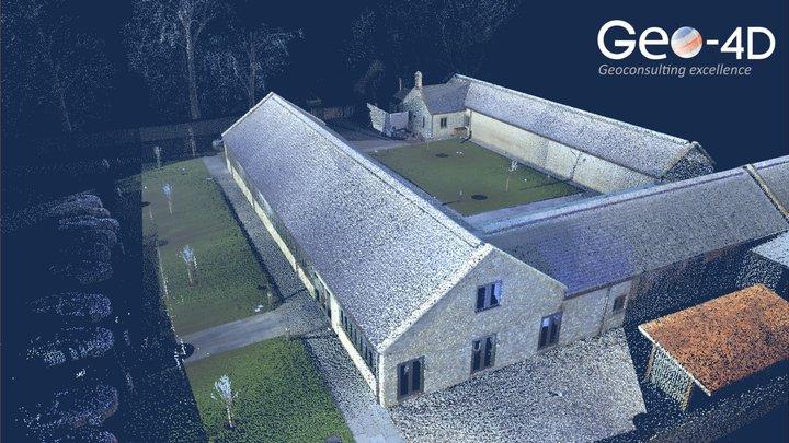 Office Survey: Drone & Laser Scanning 3D Model