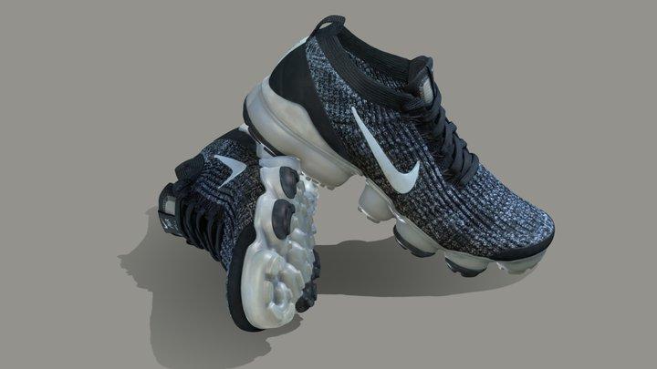 Nike air VaporMax Flynit Shoe 3D Model