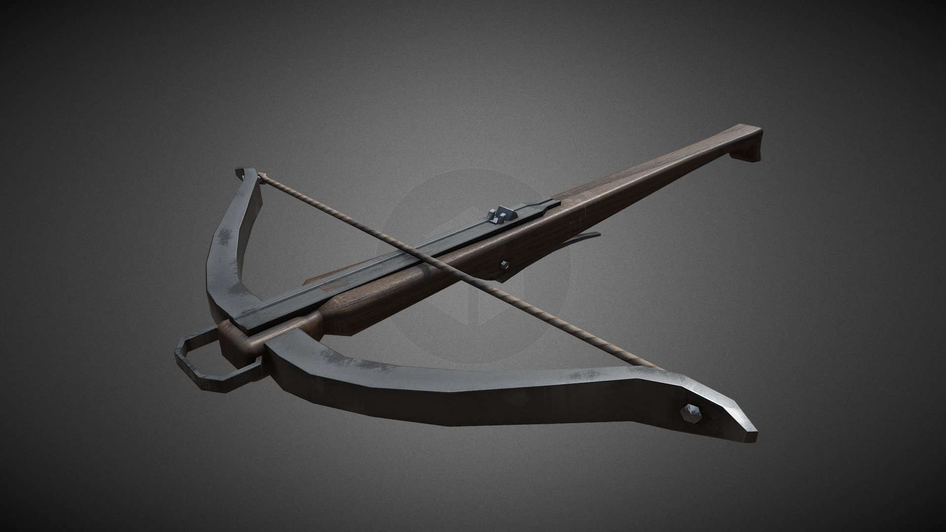 Medieval crossbow 01