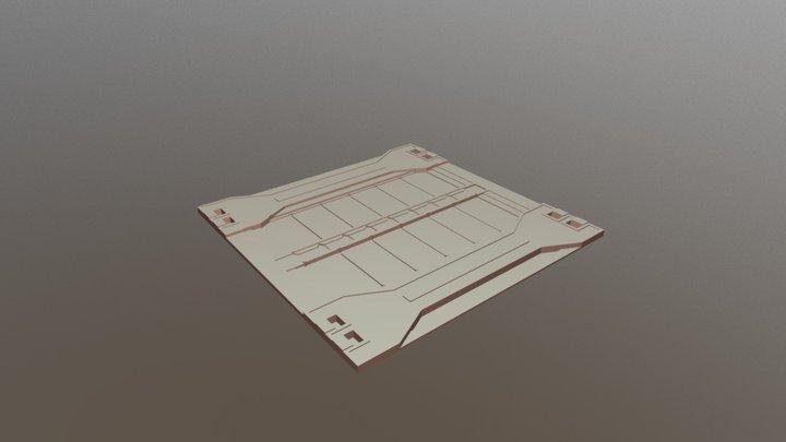 [EnvArt] Scifi Floor Tile 3 3D Model