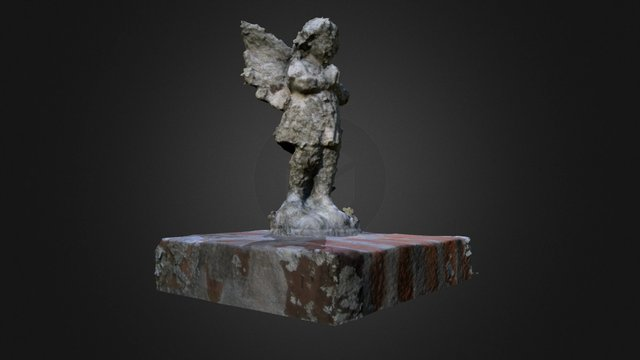 Indian Springs Angel Figure 3D Model