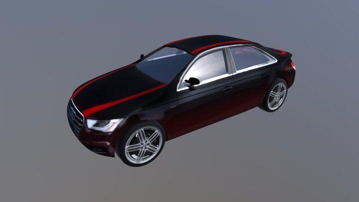 2013 audi s4 3D Model