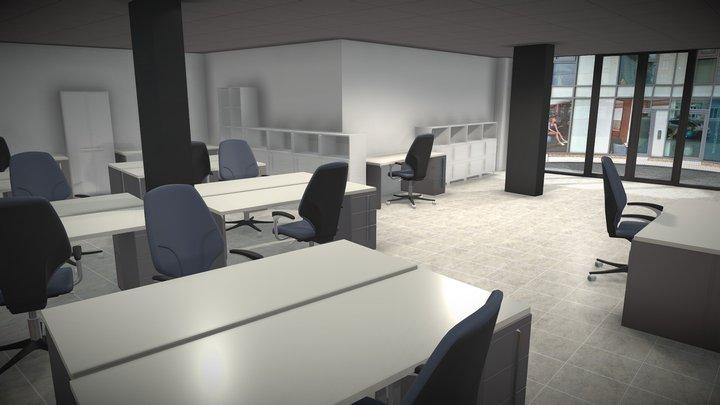 Basic Interior Visualisation 3D Model