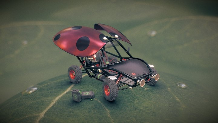 Ladybuggy [Challenge] 3D Model