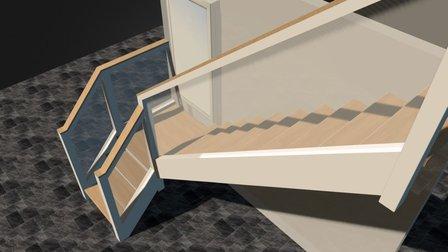 Staircon trappensoftware Brand Van Rijn 3D Model