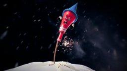 Crazy Rocket 3D Model