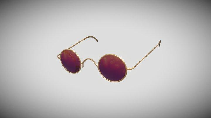 Lara Sunglasses 3D Model