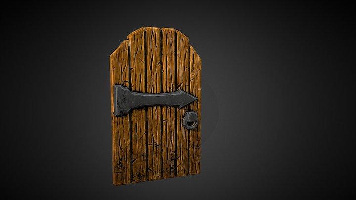Stylized Door 3D Model