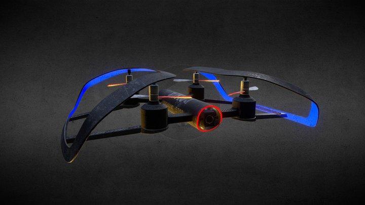 Shift Drone 3D Model