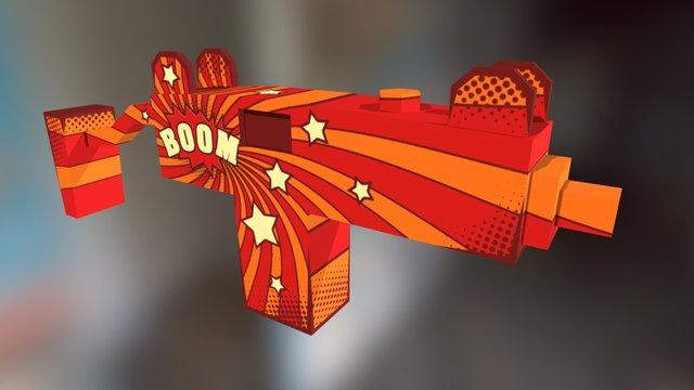 Bulldog   Comics BOOM 3D Model