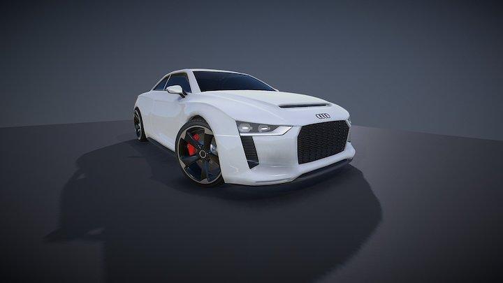 Audi Quattro Concept2 3D Model