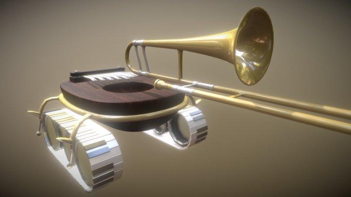 Orchestral Tank 3D Model