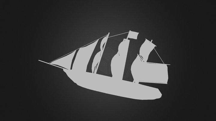 SloopofWar 3D Model