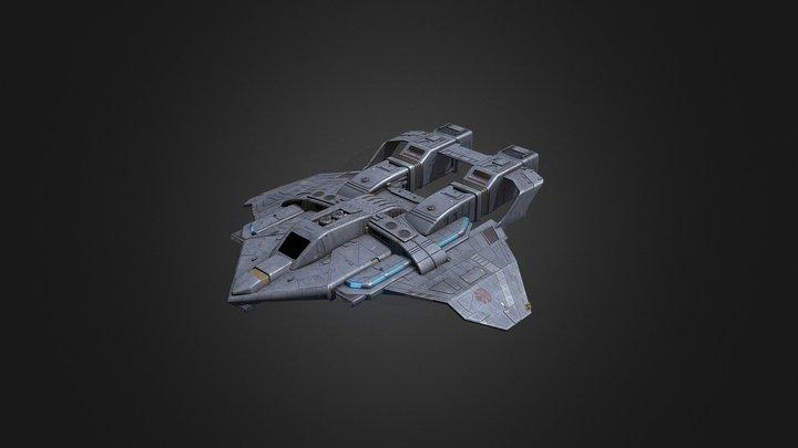 Maquis Fighter 3D Model