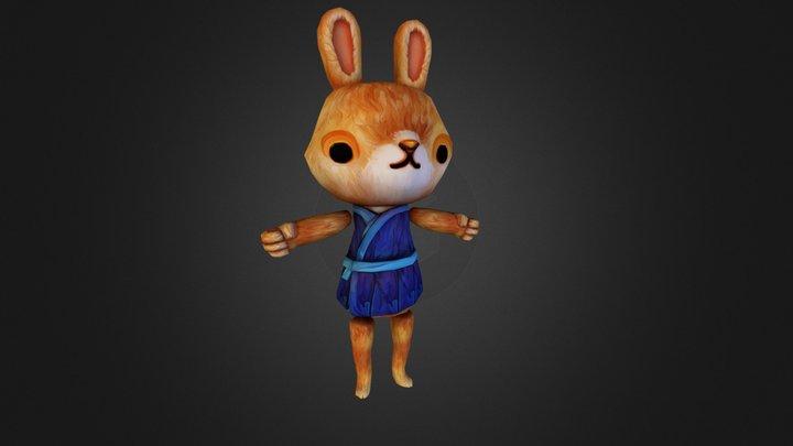 Bunny (Furry Overload 2014) 3D Model