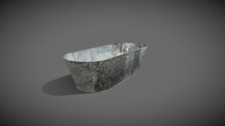 Tin Bath 3D Model