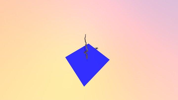 Pterodactyle 3D Model