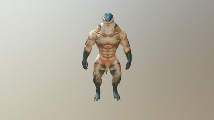 Shark LOD 0 3D Model