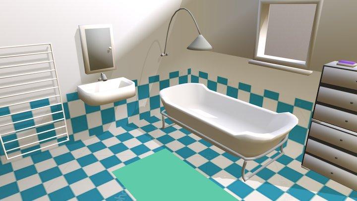 Atividade Banheiro 3D Model