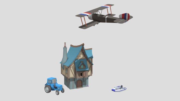 DraftPunk3_HW4 3D Model