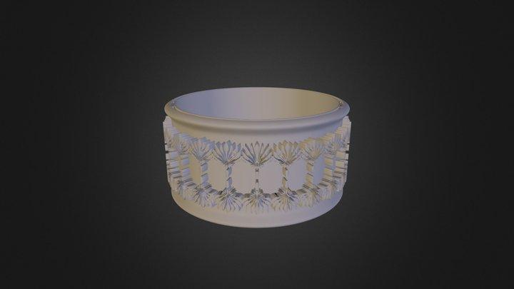 מזובר נוגה טבעת תימנית  3D Model