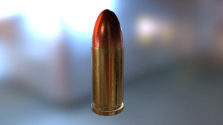 9mm round - WIP 3D Model