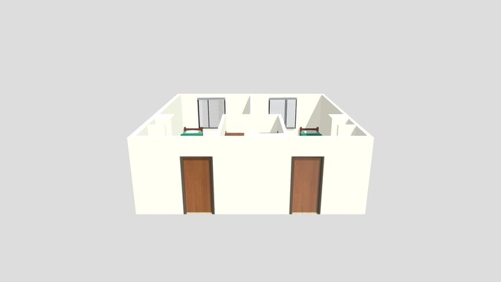 Maple Hall 3D Model