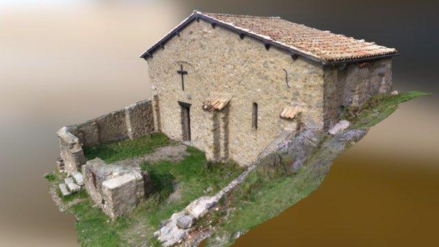 Chapelle de Dromon (Saint-Geniez) 3D Model