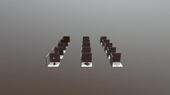 RENDERSCENE WIZARD LAIR 3D Model
