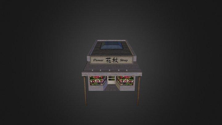 House 03 City Scene 3D Model