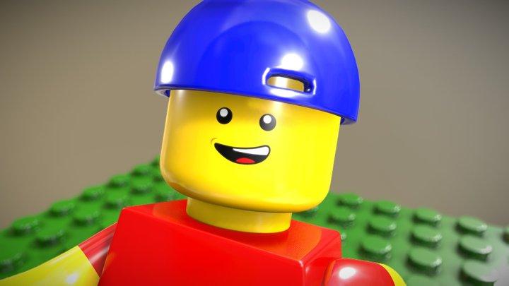 Lego Minifigure 2.0 3D Model